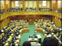Scoop Image: Parliament's debating chamber.