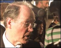 Scoop Image: Don Brash, election night Sept 17 2005.
