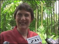 Scoop Image: NZ PM Helen Clark in Nadi, Fiji.