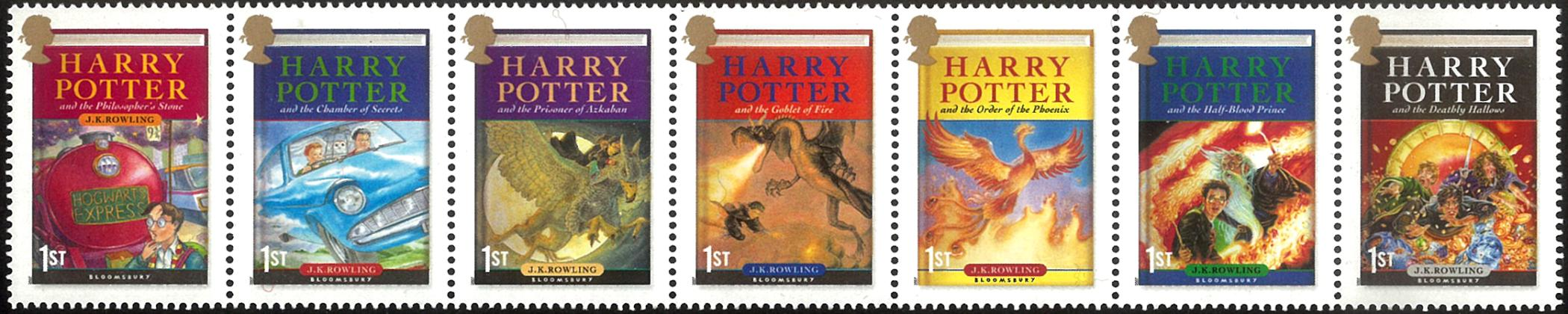 Harry Potter Wallpaper Stamps