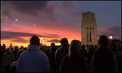 Selwyn Manning: ANZAC Day 2008 Dawns in NZ